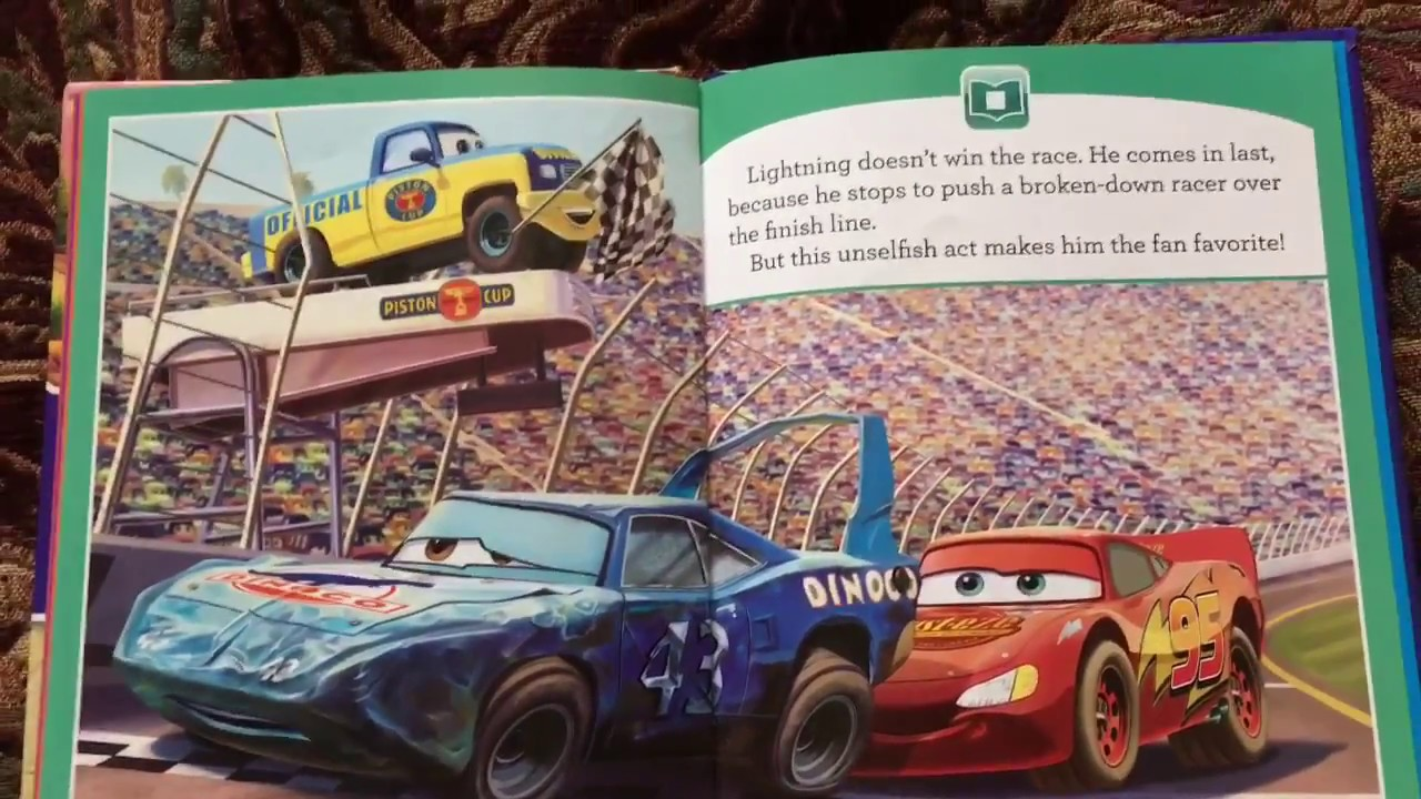 disney pixar cars me reader story book