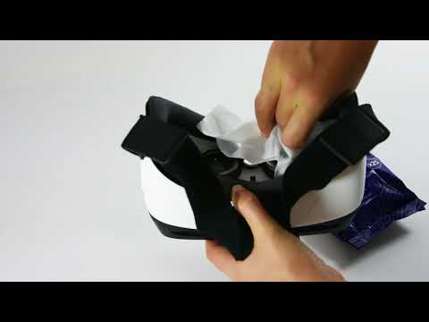 How to clean VR headsets with AF  Tech Wipes