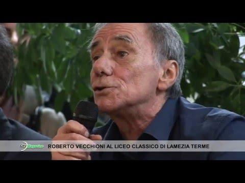 City Magazine - Roberto Vecchioni al Liceo Classico 160116