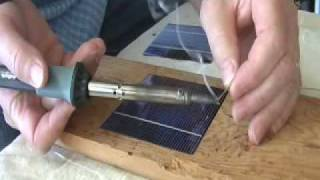 Solar Cell Tabbing - the EASY RIGHT WAY to do it