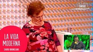 Señora se duerme en el programa de Juan y Medio #LaVidaModerna