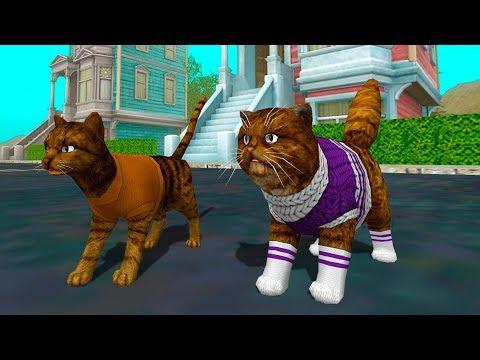 Видео Симулятор кошки онлайн взломанная игра