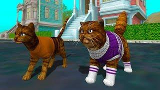 СИМУЛЯТОР Маленького КОТЕНКА #17 родила беременная кошка / Видео про котов от КИДА #ПУРУМЧАТА
