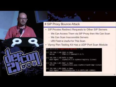 Defcon 21 - VoIP Wars: Return of the SIP