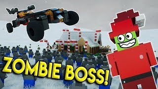 LEGO ZOMBIE CHRISTMAS RESCUE! - Brick Rigs Multiplayer Roleplay - Gameplay Challenge