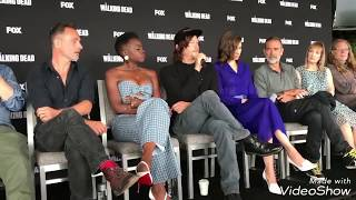 revistawhatsup comic con san diego 2018 twd thewalkingdead