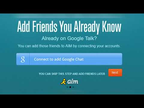 All About The New AOL Mail And AIM Chat