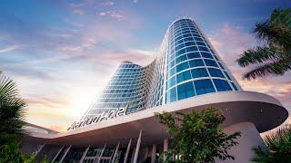 Aventura Hotel Room Tour - Deluxe King with Theme Park View - Universal Studios Orlando Florida