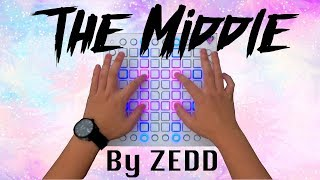 Download Lagu Zedd, Maren Morris, Grey - The Middle (4k Launchpad Pro Performance) Mp3