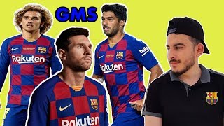 BARCELONA LINE UP NEXT SEASON 19/2020 I Messi,Griezmann, Frenkie De Jong Video