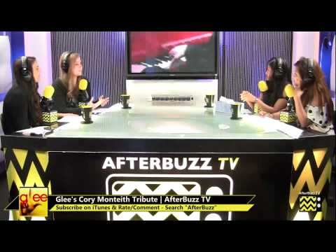 Glee After Show | Cory Monteith Tribute | AfterBuzz TV