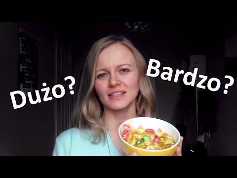 Polish lesson with Dorota: Dużo czy bardzo?