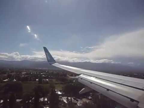 Pouso em Mendoza - Argentina