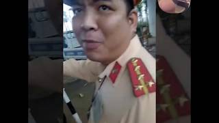Trần Truồng| CSGT đội 11 bắt láo đúng cụ nông dân học luật gắt