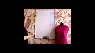 Урок-2: конструирование платья для полных