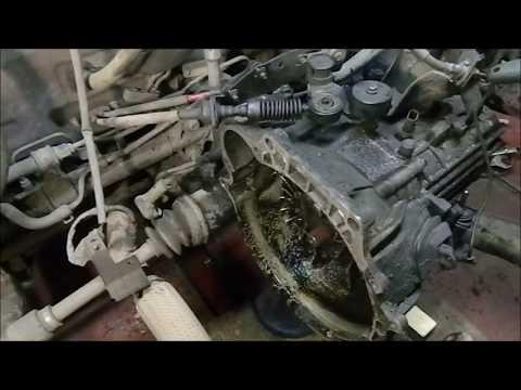 Hyundai Accent замена двигателя G4CE на контрактный.