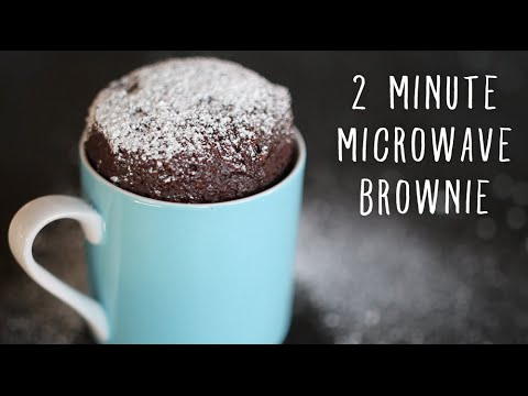 2 Minute Microwave Brownies In A Mug