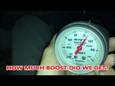 srt4 boost gauge hook up
