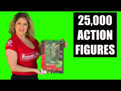 Unboxing 25,000 Action Figures Abandoned Storage Star Wars Hot Wheels