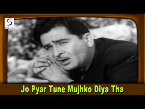 Jo Pyar Tune Mujhko Diya Tha | Mukesh | Dulha Dulhan @ Raj Kapoor, Sadhana