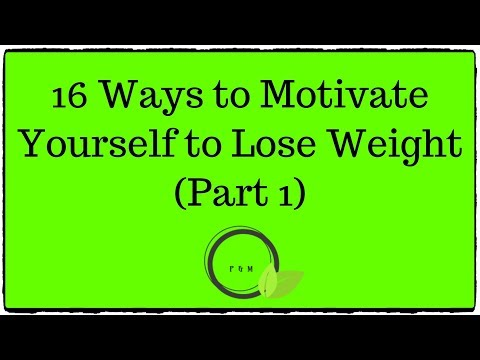 16 Ways to Motivate Yourself to Lose Weight (Part 1) – 2019