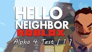 ROBLOX: Bonjour Voisin - Alpha 4 Test [1]