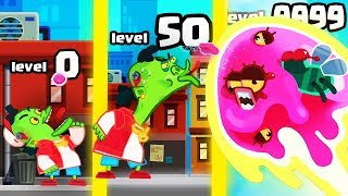 HOW STRONG IS THE HIGHEST LEVEL BUBBLEGUM SPITTER EVOLUTION? (9999+ GUMBALL SPIT UPGRADE) l Gum Fly