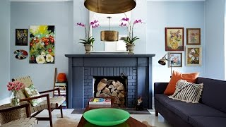 Interior Design — Fun & Colourful Small Family Home With Finished Basement