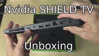 Nvidia SHIELD Android TV 16Gb Unboxing and Setup (with Remote and Stand)