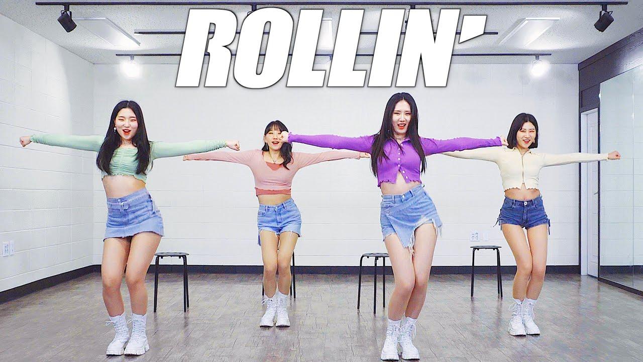 브레이브걸스 Brave Girls - 롤린 (Rollin') | 커버댄스 DANCE COVER | 안무 거울모드 MIRROR MODE (2021 VER.)