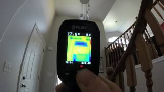 flir TG-165 House in SW Ontario 2017