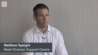 Matthew Speight talks about Co-op Digital and Leading the Way