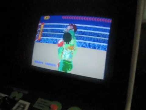 Nintendo Punch-Out!! Arcade Cabinet Machine - NOT MAME! - YouTube