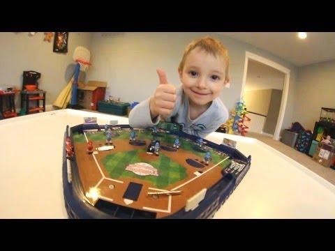 FATHER SON MINI BASEBALL!Best terrible 3D video