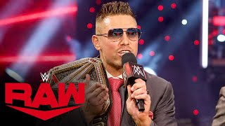 The Miz has a request for Drew McIntyre: Raw, Mar. 1, 2021