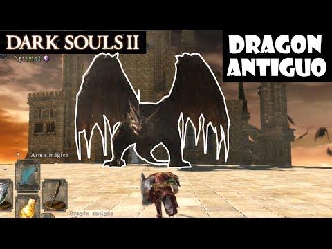 Dark Souls 2 guia: DRAGON ANTIGUO || Trucos para matar a este dragón gigante! || Episodio 66