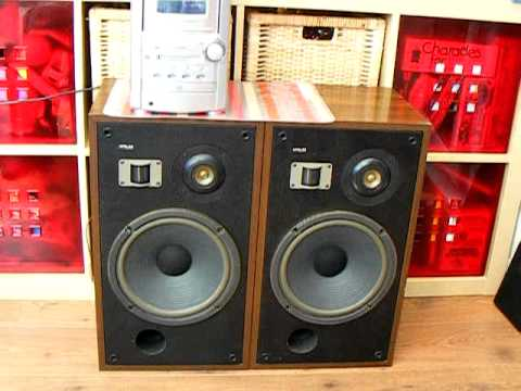 pioneer hpm 40 vintage 1970s speakers demo youtube. Black Bedroom Furniture Sets. Home Design Ideas