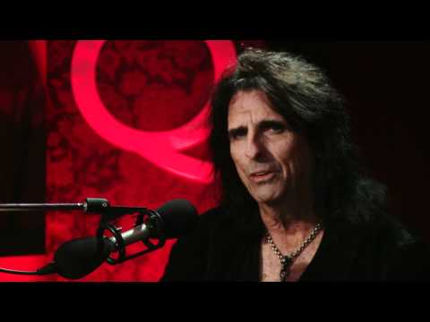 Shock Rock godfather Alice Cooper in Studio Q