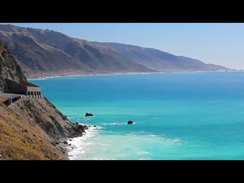 """A New Day in Big Sur"" PART II HD Nature Relaxation Video + Sounds 1080p"