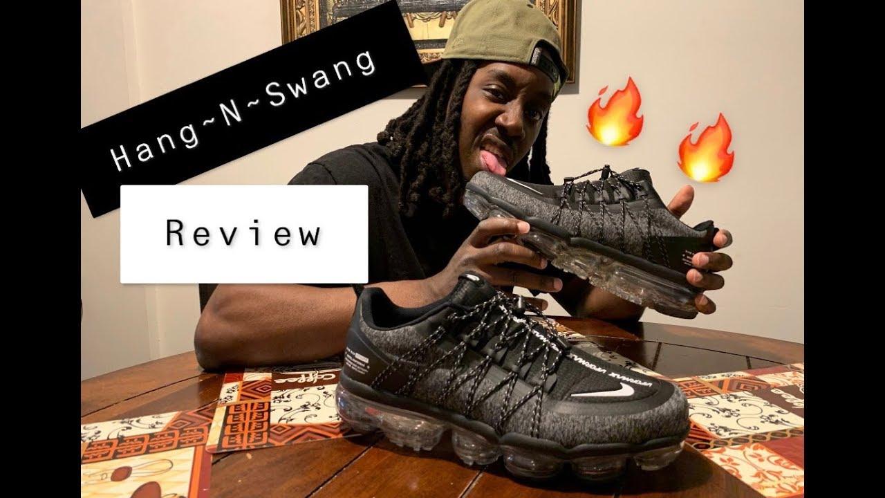 "74e591879a7f5 DHgate"" Nike Vapormax Utility (Hang-N-Swang REVIEW)   On Feet - YouTube"