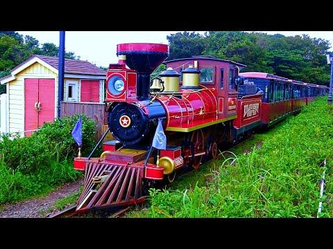 railway.-steam-train-at-jeju-ecoland-theme-park-/-Паровозик-в-тематическом-парке-на-о.-Чеджу