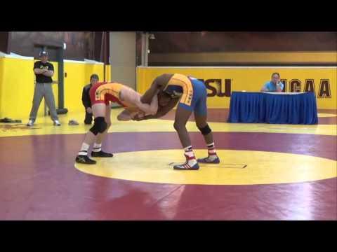57 KG (1 of 2) - Matt McDonough vs. Nahshon Garrett