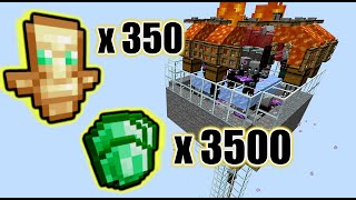 SUPER Easy Raid Farm [Raid-O-Matic] (3500 emeralds/hr) | 1.14-1.16.3+ Minecraft (CHECK description)