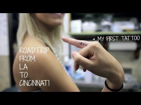 LA TO CINCINNATI | Roadtrip Vlog