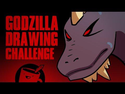 Artists Draw Godzilla Kaiju (That They've Never Seen)