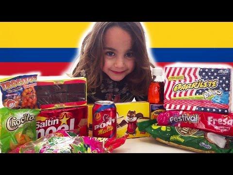 Chuches Colombianas! Snacks, dulces y chucherías de Colombia.