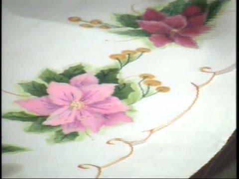 Como pintar tela estela 21 youtube - Dibujos para pintar en tela ...
