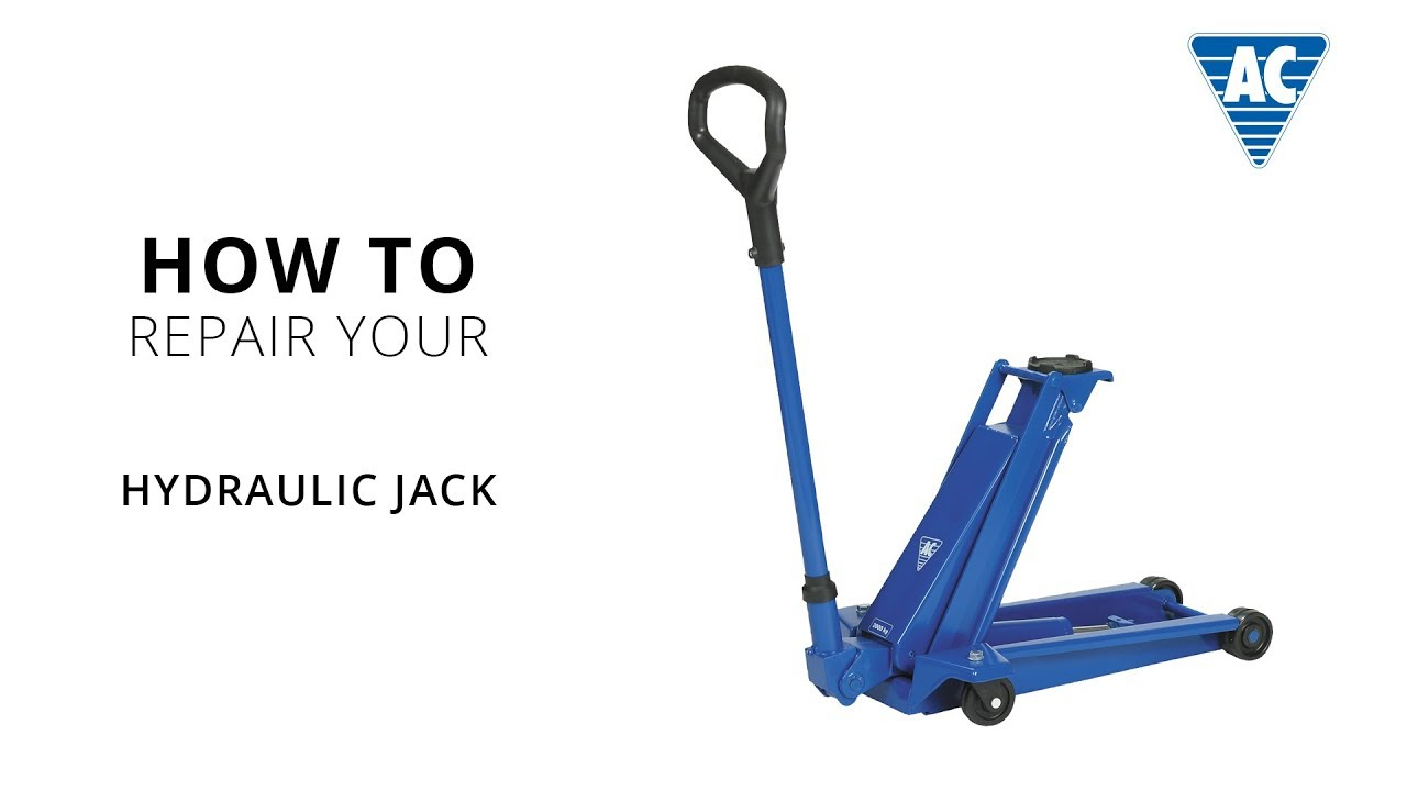 How To Repair Your Hydraulic Jack Youtube