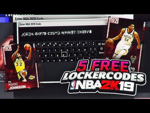 5 *FREE* LOCKERCODES THAT YOU MIGHT NOT KNOW ABOUT!! FREE MT AND TOKENS!! NBA 2K19