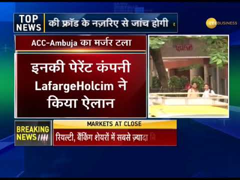 ACC and Ambuja Cements put merger plan for hold, for now